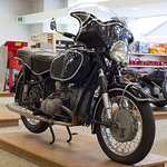 1967 BMW on display in E Hayes and Sons store - Dee Street, Invercargill