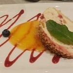 Ein Kunstwerk: Leckeres Dessert - jeden Abend