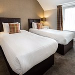 First Floor Twin Room at Derrybeg Pitlochry