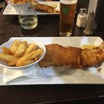 Fish & Chips - smaller portion was enough.
