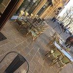 Beau décor  Terrasse sympathique et aéré