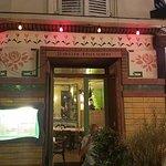 L'Ete en Pente Douce restaurant at Montmarte neat Sacre Coeur