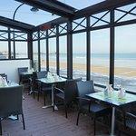 Terrasse de l'hôtel Restaurant Antinéa