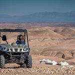 Quad biking in the Agafay Desert