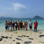 Special trip on the holiday with our guest to the island around Phuket