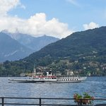Lake Como from our room at Hotel Bazzoni - June2016