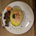 Avocado with Shrimp just so tasty love it the most.