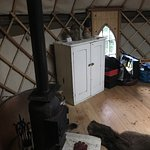 "Walcot hall staying in the ""After the GoldRush"" Yurt"