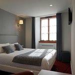 Hôtel des Messageries - Arbois - chambre