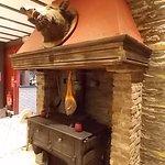 Une belle cheminée!