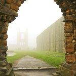 Cathedral Ruins on a foggy day