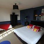 Chambre Bleue-Suite familiale