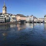 Zürich, an der Limmat
