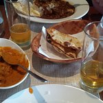 Our delicious main dishes at Moksha