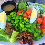 Wild Wolf Salad with Blonde Hunny dressing