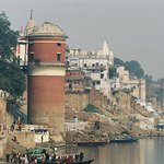 A view along the Ganges.