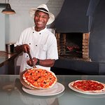 Head chef, Julius, is always ready to welcome you