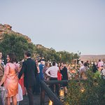Reception at Embers - Photograph by Shanna Jones