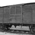 A rail carriage which would have transported people