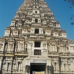 The Virupaksha temple.