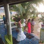 A wedding was held a Fun Holiday Beach resort