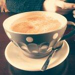 Bon latté à l'érable!!