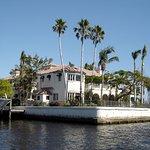 luxury home viewed during cruise © Robert Bovington
