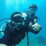 Me & my instructor Manuel
