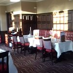 Old Garrison Dining Room dressed in its Sunday Best!