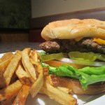 Best burgers in town! Hand pressed and fresh, not frozen! Real potatoes for yummy fries!