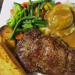 Delicious steak to satisfy your hunger!