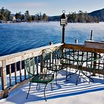 Sundeck in the winter
