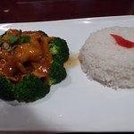 Amazing Bee Chicken dish with Jasmine rice