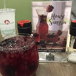 Sangria was one of the best my wife had tasted.