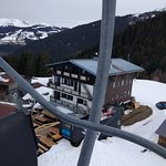 From the lift
