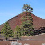 cinder cone at Sunset Crater Volcano