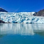 View of Holgate Glacier from a Half a Mile