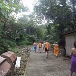 Arrivée à Titou Gorge (prendre serviette)