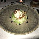 Ceasar Salad - unusual but tasty dressing