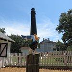 Lighthouse pelican