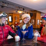 Ladies ski day at the Maggie
