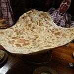 Gigantic naan