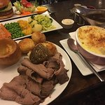 Visited The Royal Oak for dinner tonight. Chose a roast and had my doubts after almost an hours