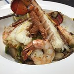 Lobster and Shrimp Diavolo