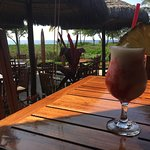 Lava Flow....... Ocean view dining at lunch.