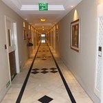 Typical corridor to rooms
