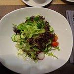 Gemischter Salat war sehr lecker
