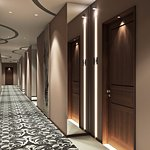 HOTEL RETLAW | GUEST ROOM CORRIDOR  www.thehotelrelaw.com