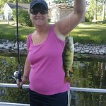 Great fishing on Middle Lake