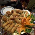 Vegetarian banquet starter